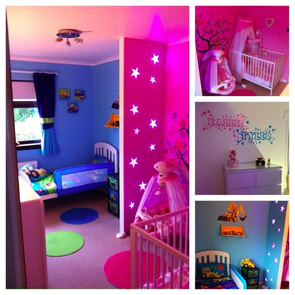Boy Girl Room Paint Ideas