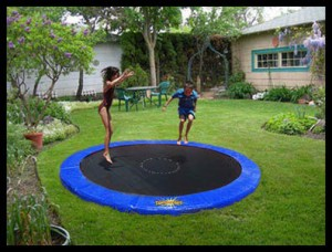 Cool Garden Ideas 10 cool garden ideas for the summer Trampoline Framed