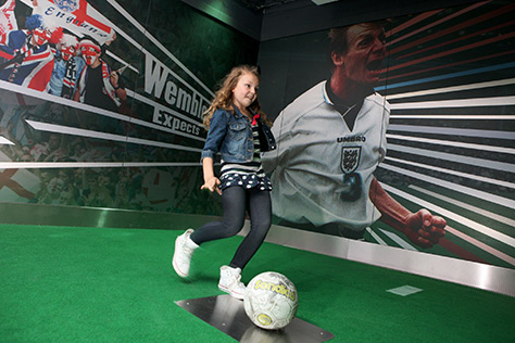 National Football Museum on #Daysoutwithkids