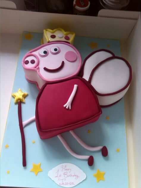 Cool 28 Of The Best Peppa Pig Birthday Cakes Made By Our Fans Picniq Blog Personalised Birthday Cards Bromeletsinfo