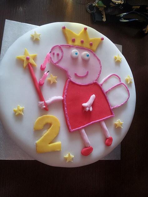 Peppa Pig Cake By Gavin Ebsworth On Daysoutwithkids