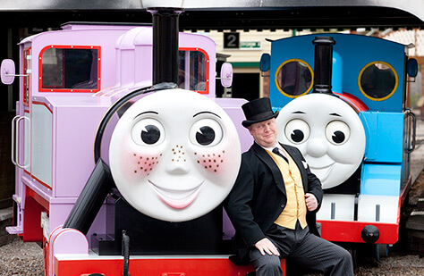Rosie,-Thomas-and-Fat-Controller