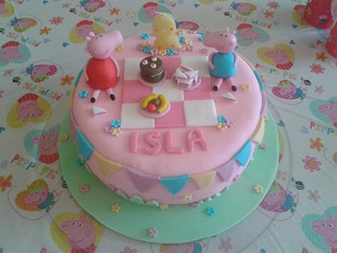 Peppa Pig Cake By Zoe Crumpton Stevens On Daysoutwithkids