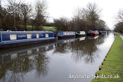 Leeds Canal on #Daysoutwithkids