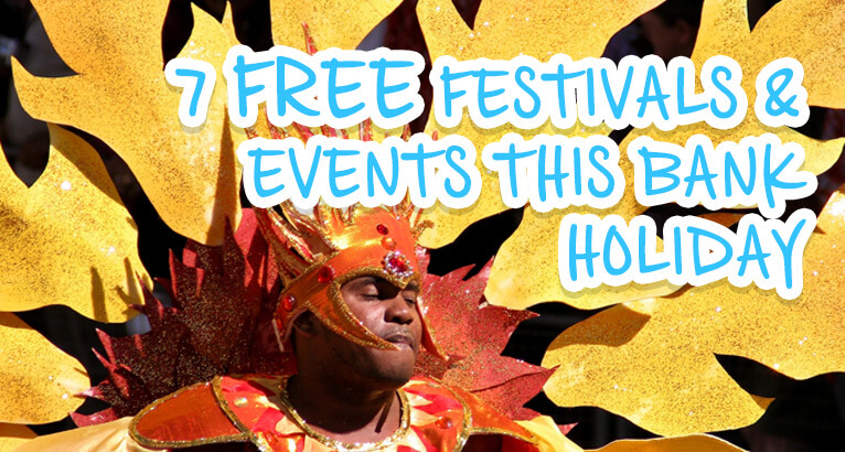 Free Bank Holiday Events on #Daysoutwithkids