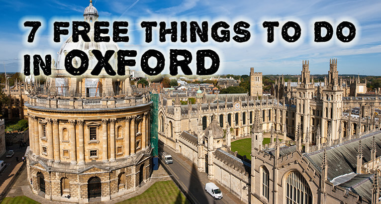 7 Free Things To Do In Oxford