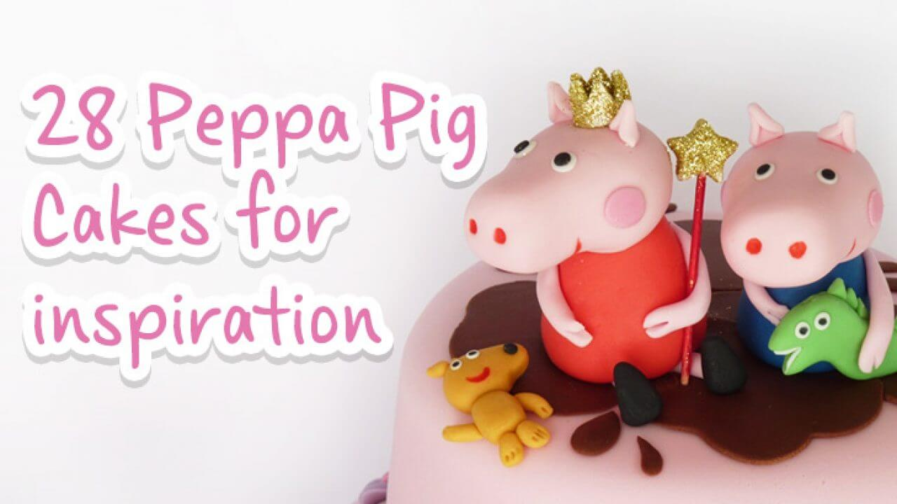 Enjoyable 28 Of The Best Peppa Pig Birthday Cakes Made By Our Fans Picniq Blog Funny Birthday Cards Online Overcheapnameinfo