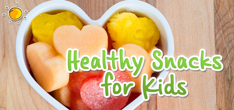 Healthy snacks for Kids on #Daysoutwithkids