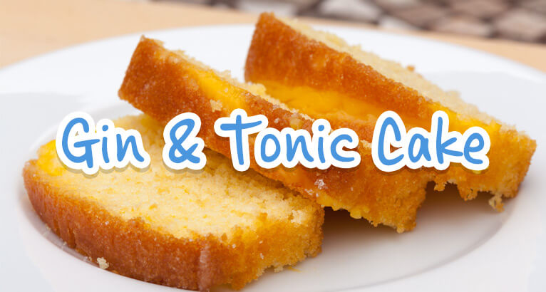 Mouthwatering And Most Definitely Alcoholic Gin Tonic Cake