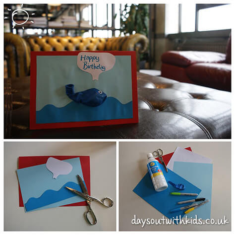 Whale Card on #Daysoutwithkids