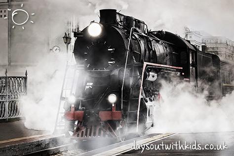 Steam Train on #daysoutwithkids