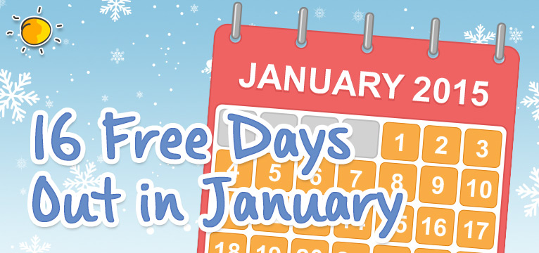 16 free days out for the family