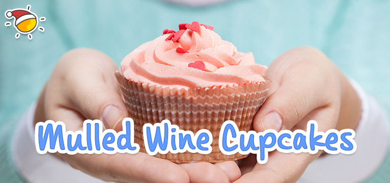 Mulled Wine Cupcakes on #Daysoutwithkids