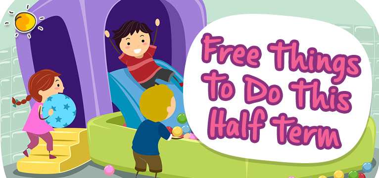 Free things to do this half term on #Daysoutwithkids