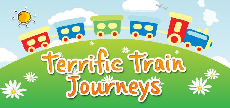 Terrific Train Journeys on #daysoutwithkids