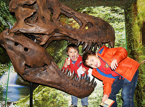 Torquay's Dinosaur World on #daysoutwithkids