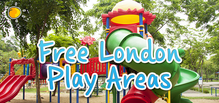 Free London Play Areas on #Daysoutwithkids
