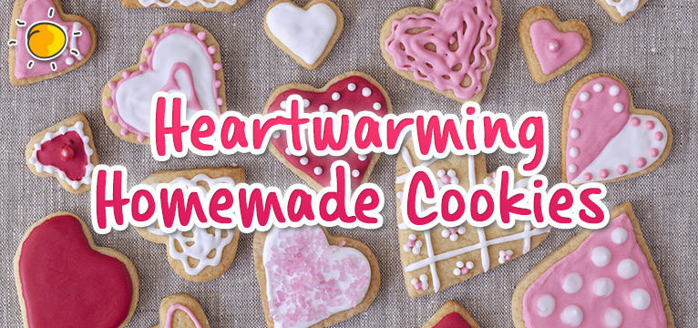 Heartwarming cookies on #Daysoutwithkids