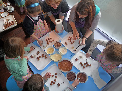 Oban Chocolate Factory, Scotland on #Daysoutwithkids