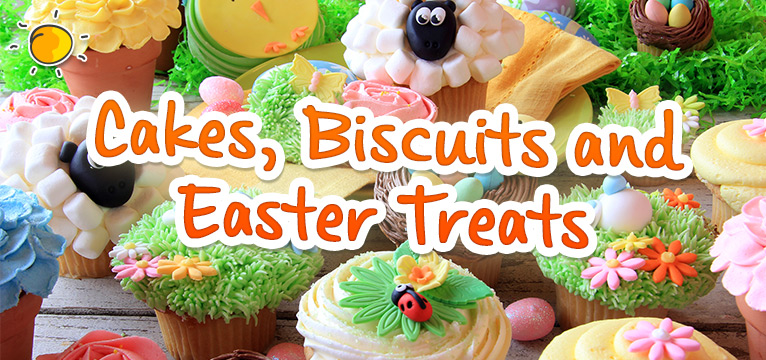 Cakes, Biscuits and Easter Treats on #Daysoutwithkids