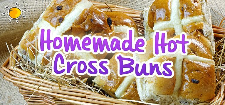 Homemade Hot cross Buns on #Daysoutwithkids