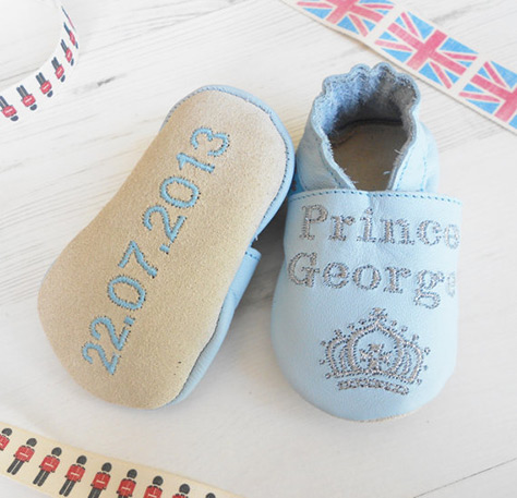 Personalised-baby-shoes on #Daysoutwithkids