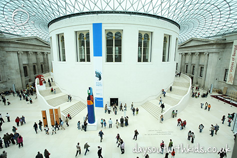British Museum on #Daysoutwithkids