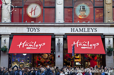 Hamleys on Daysoutwithkids