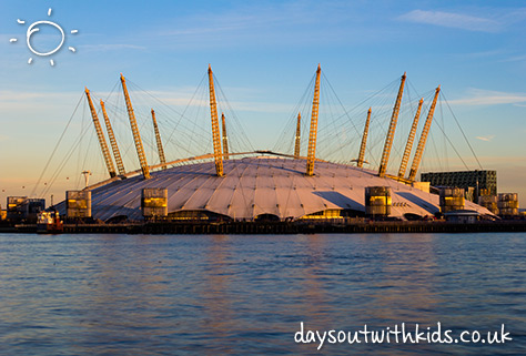 Up at the o2 on #Daysoutwithkids