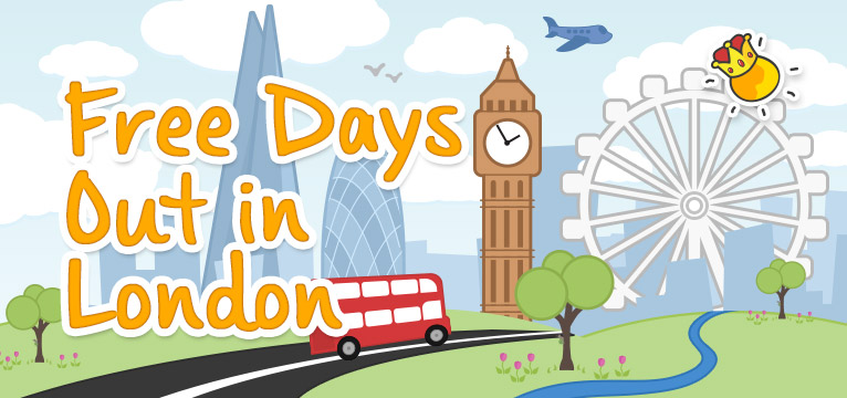 Free Days Out in London on #Daysoutwithkids