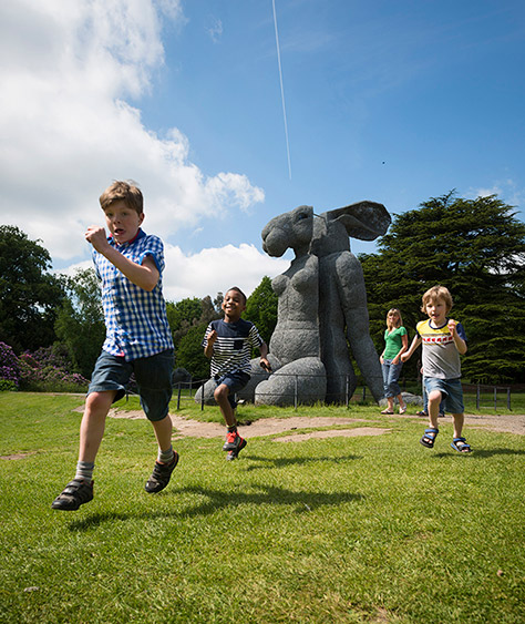Yorkshire Sculpture Park on #Daysoutwithkids