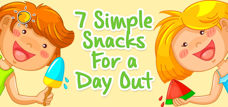 Snacks for a Day Out on #Daysoutwithkids