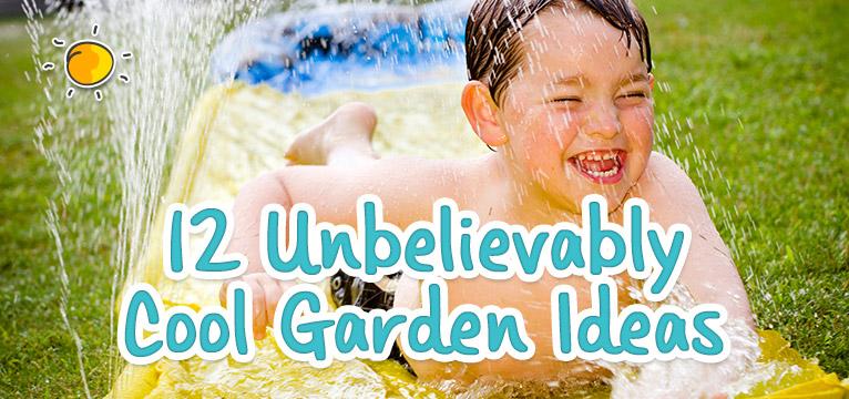 12 Unbelieviably Cool Garden Ideas on #Daysoutwithkids