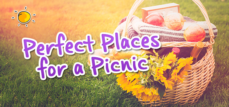 Perfect Places for a Picnic on #Daysoutwithkids