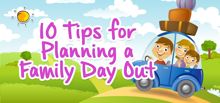 Tips for planning a day out with #Daysoutwithkids