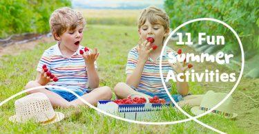 11 summer activities