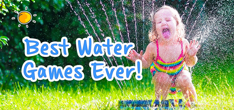 Best Water Games Ever on #Daysoutwithkids