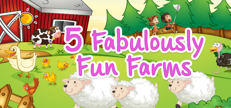 Fabulously Fab Farms on #Daysoutwithkids
