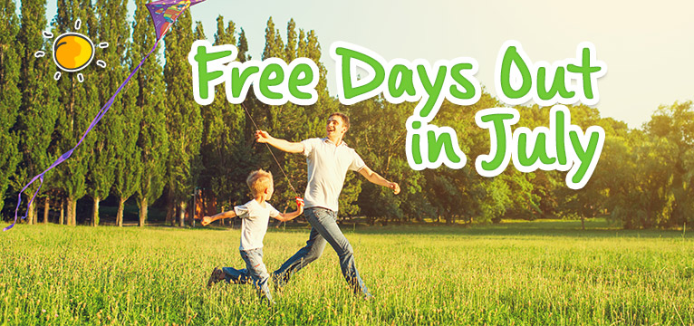 Free Days Out In July on #Daysoutwithkids