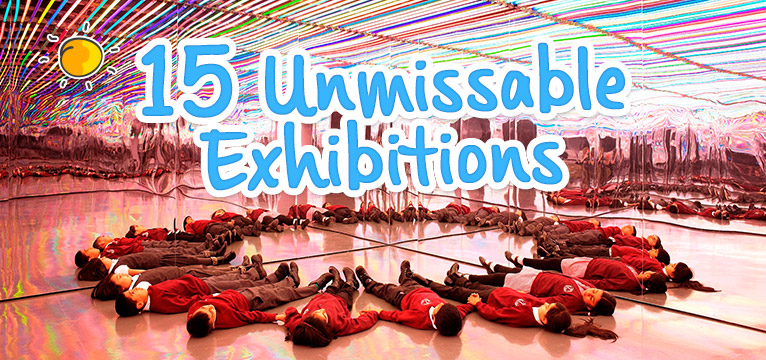 15 unmissable exhibitions on #Daysoutwithkids