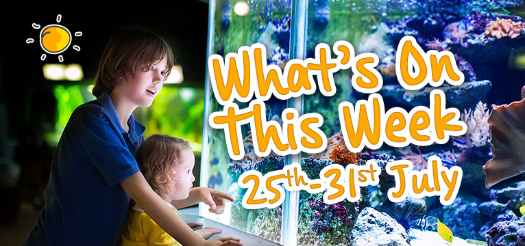 What's on this week 25th - 31st July on #Daysoutwithkids