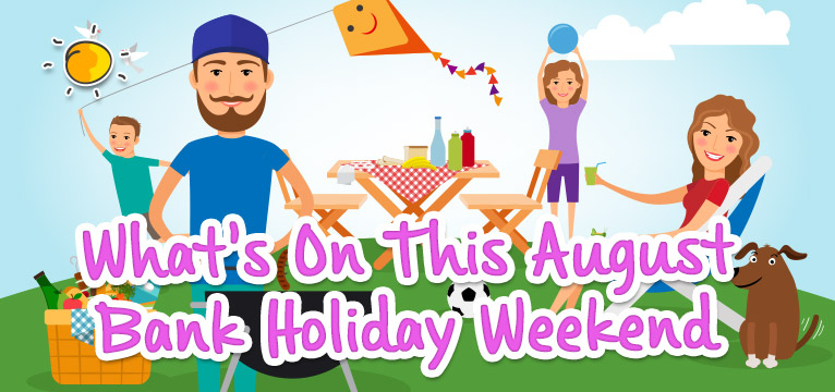 What's on this bank holiday weekend  on #Daysoutwithkids