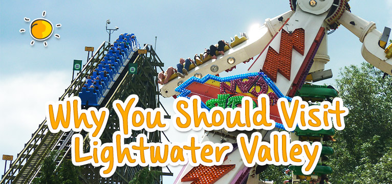 Lightwater Valley on #Daysoutwithkids