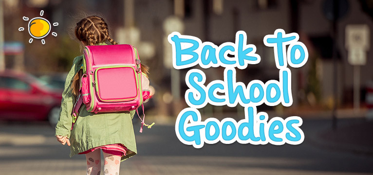 Back to School Goodies on #Daysoutwithkids