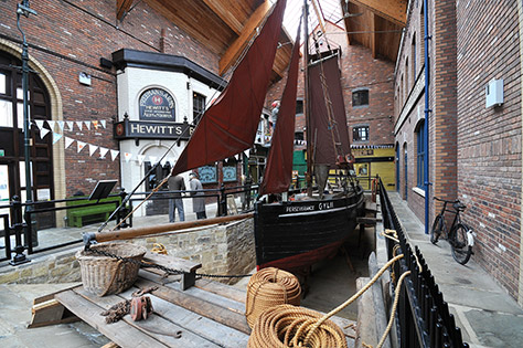 Grimsby Fishing Heritage Centre on #Daysoutwithkids