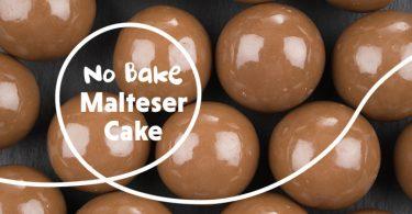 No Bake Malteser Cake
