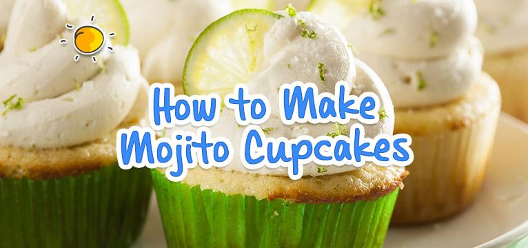 How to Make Mojito Cupcakes