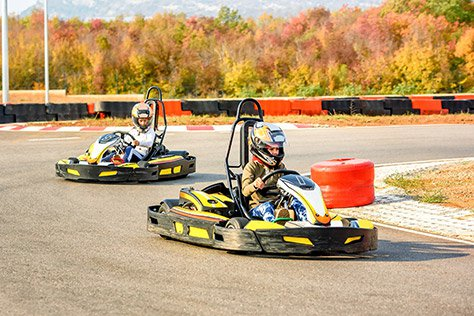 Go Karting | Things To Do in London For Father's Day