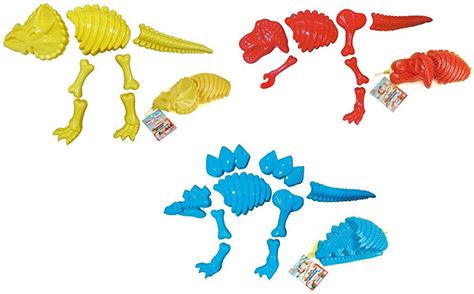 Dinosaur-Sand-Moulds