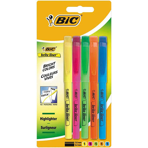 BIC-Highlighter-Pack---Amazon